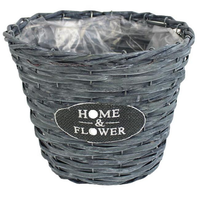 Obal šedý pr. 18 cm Home&Flower