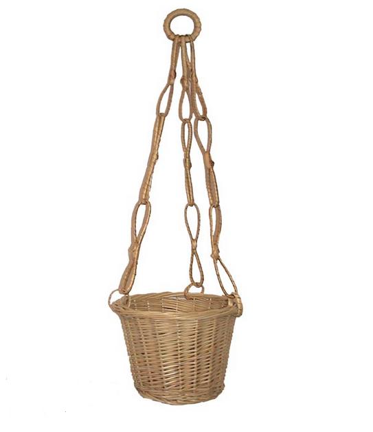 závěsný košík květináč na jednu kytku, 381035