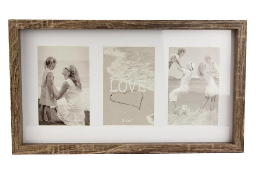 Dřevěný fotorámeček 22,8 x 40