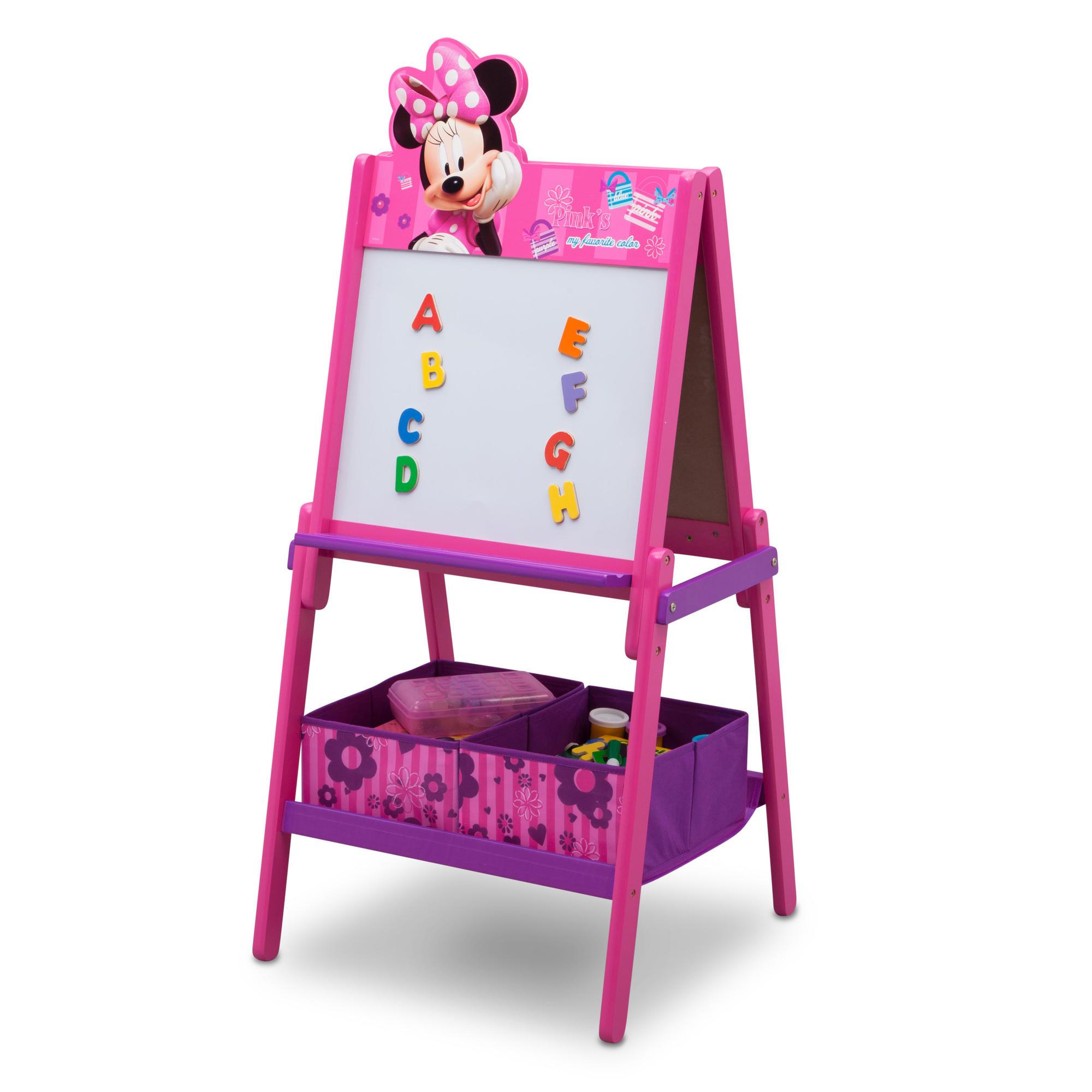 Oboustranná dětská tabule Minnie Mouse 2 v 1