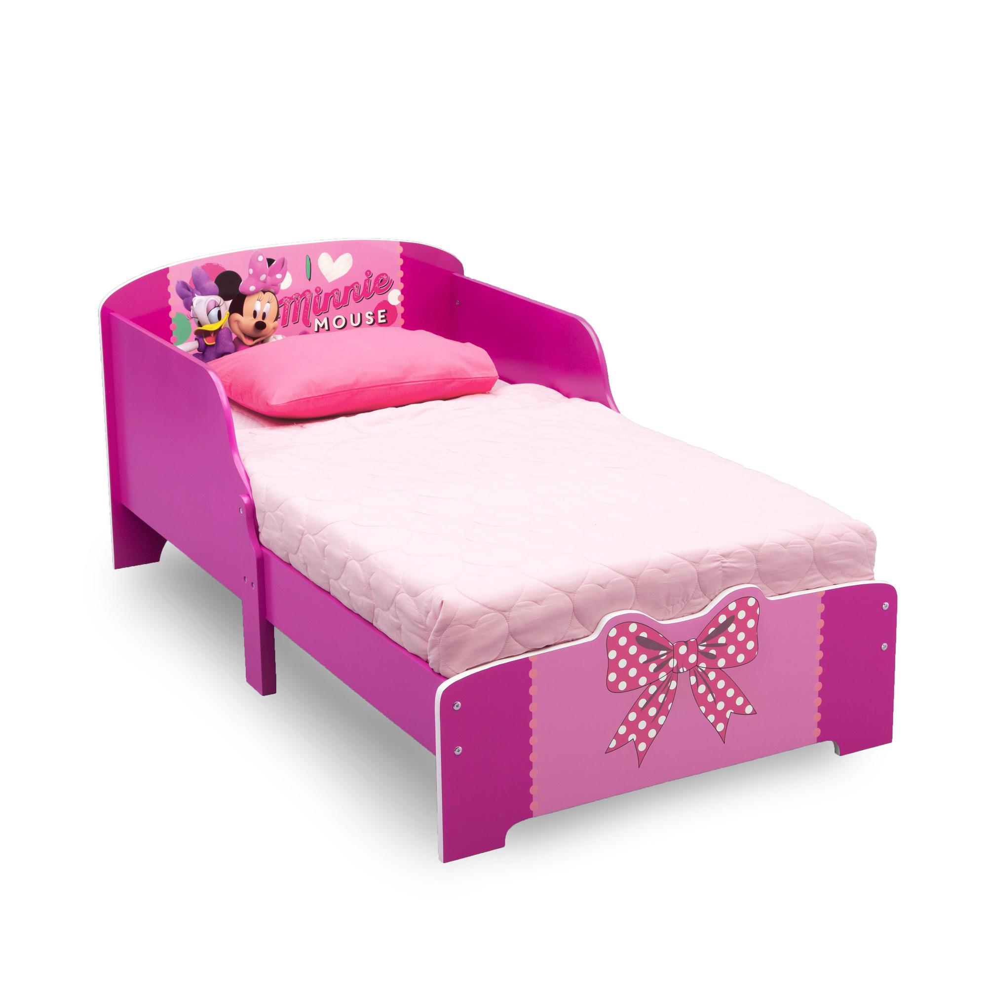 Dětská dřevěná postel Minnie Mouse