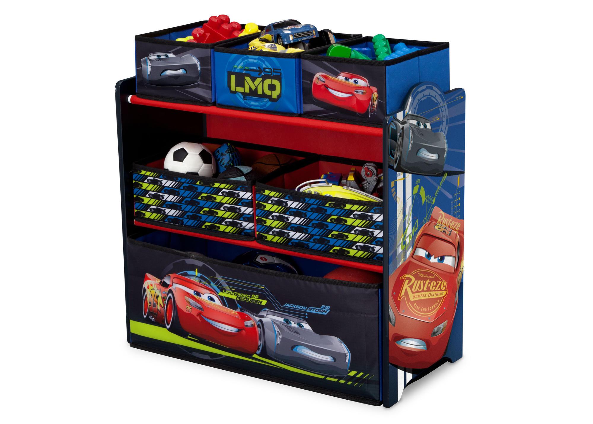 Organizér na hračky Auta-Cars