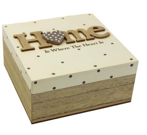 Dřevěná krabička,box home